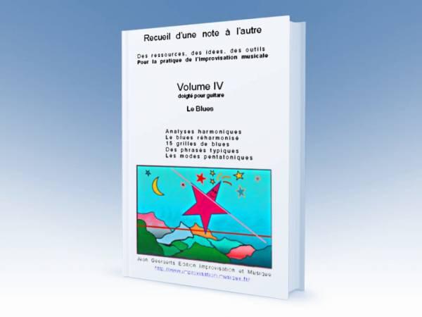 1ère de couverture du volume 4 du recueil D'une note à l'autre