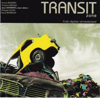 Jaquette de l'album Transit zone