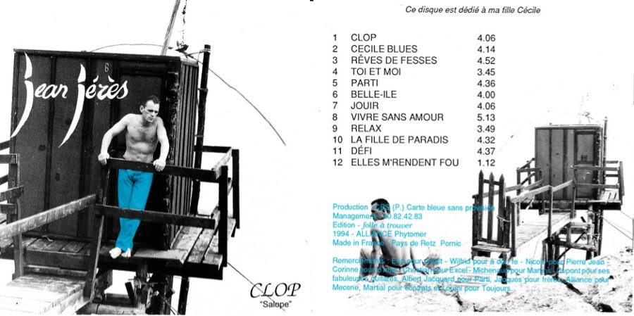 """Album """"Clop"""" de Jean Jérès"""